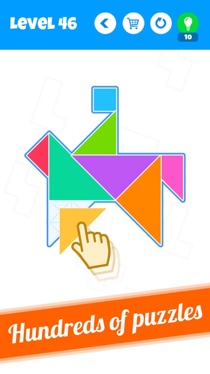 Blocks - New Tangram Puzzles
