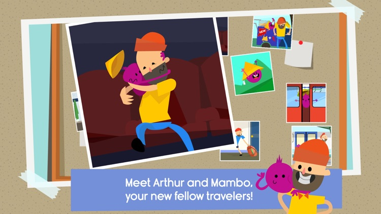 Traveling with Arthur - London city guide for kids screenshot-0