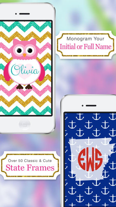 Monogram - Wallpaper & Backgrounds Maker HD DIY with Christmas