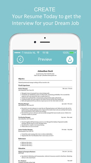 Resume Builder - CV Designer on the App Store