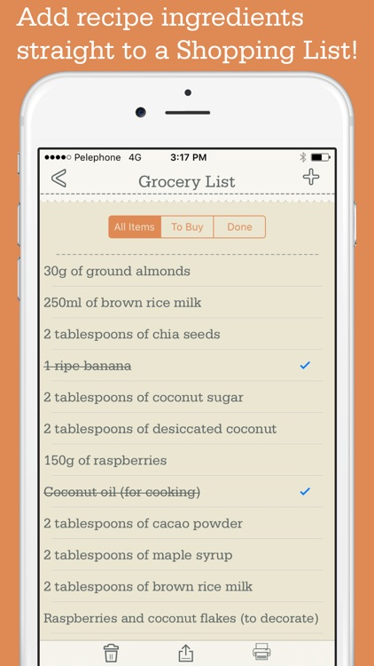 Recipe Organizer by OrganizEat: recipe keeper box screenshot-3
