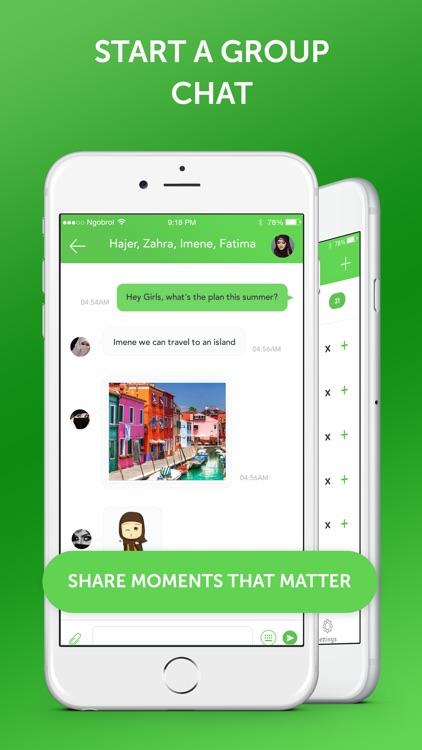 Muslim Emoji Messaging App screenshot-4