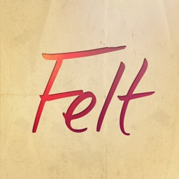 Felt: Birthday & Greeting Cards & Thank You Card