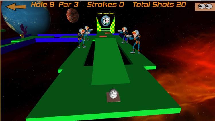 Crazy Golf In Space screenshot-4