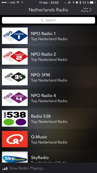 Netherlands Live Radio screenshot two