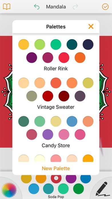 Mandala Coloring Pages 2017 screenshot three