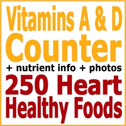 Vitamins A & D Counter & Tracker for Healthy Diets