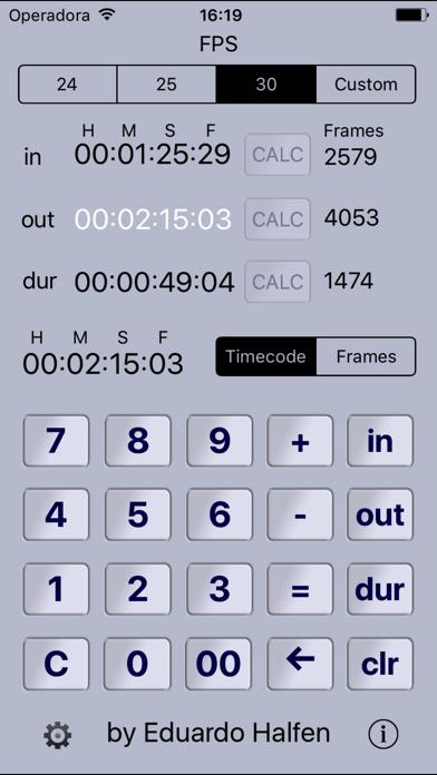 Simple Timecode Screenshots