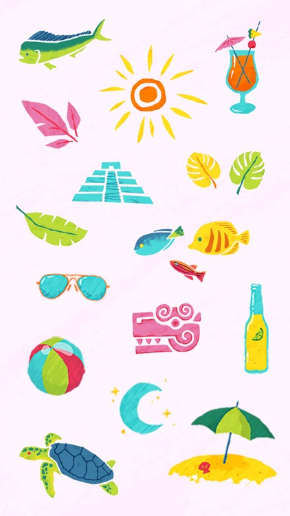 A&A Cancún Sticker Pack