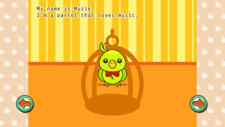 Shuffle Picture Book Muzik the Parrot screenshot-4