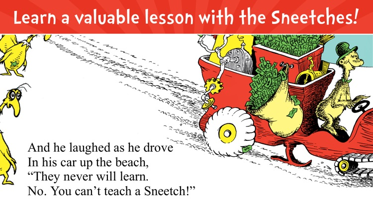 The Sneetches by Dr. Seuss screenshot-4