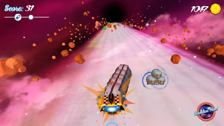Rocklien Run - Endless Space Runner screenshot-1