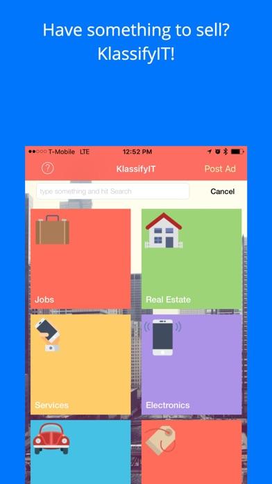 KlassifyIT screenshot one