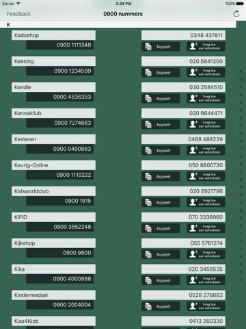 0900 Nummers - náhled