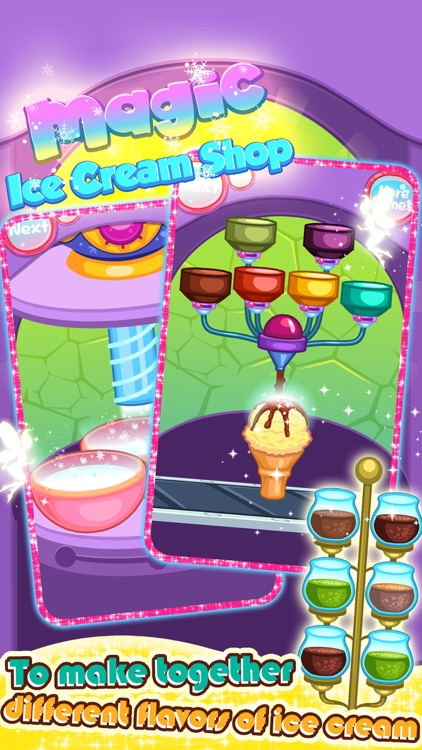 Magic IceCream Shop - Cooking game for kids screenshot-4