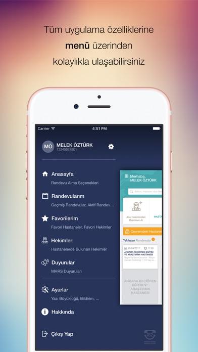 Screenshot for MHRS Mobil in Turkey App Store