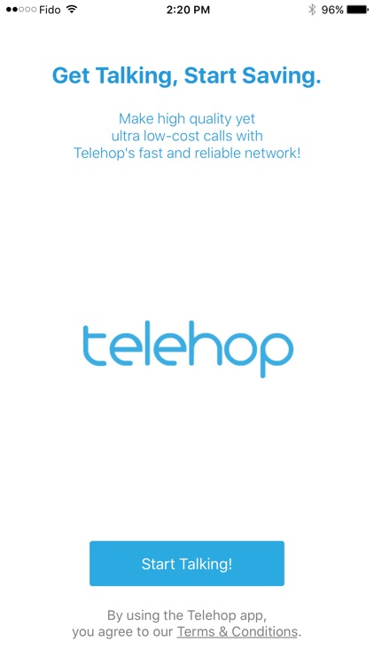 Telehop -Long Distance Calling