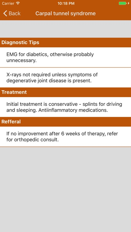 Orthopedic Referral Guidelines screenshot-3