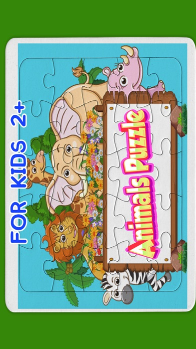 Kids animals jigsaw puzzles games for toddlers
