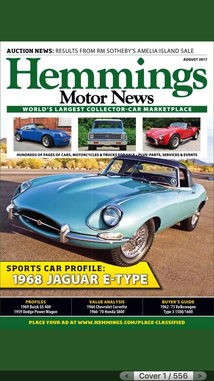 Hemmings Motor News Screenshot