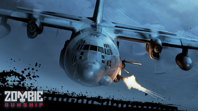 Screenshot from Zombie Gunship: Gun Down Zombies