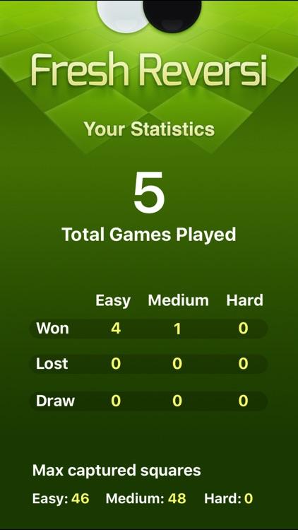 Fresh Reversi - Othello Like Strategy Game screenshot-3