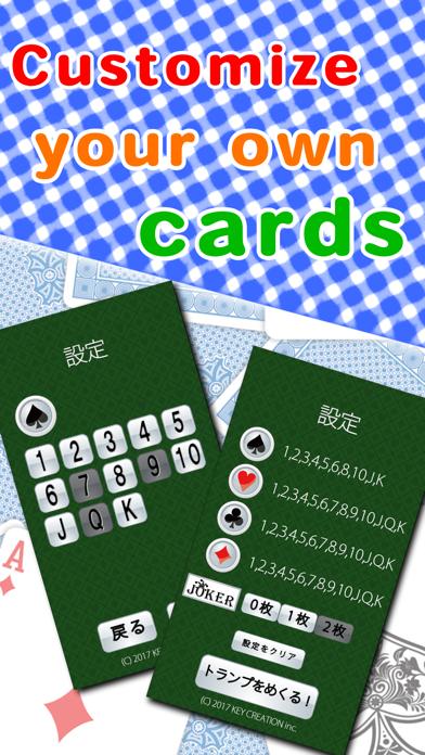 TURN-UP CARD GAME screenshot three
