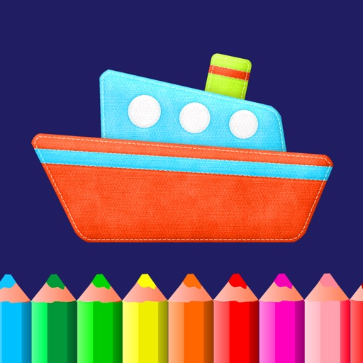 Coloring book - games for kids boys and girls apps