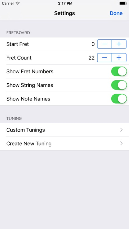 FretBud - Chord & Scales for Guitar, Bass and More