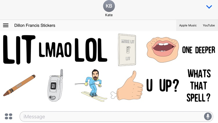 Dillon Francis Stickers screenshot-4