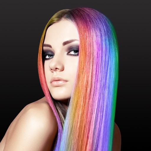 Baixar Hair Color Changer - Styles Salon & Recolor Booth para iOS