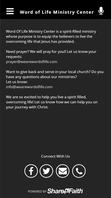 Word of Life Ministry Center screenshot-3