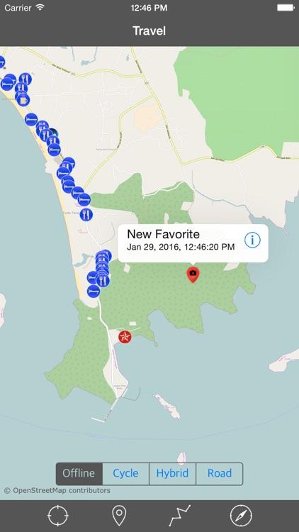 LANGKAWI ISLAND – GPS Travel Map Offline Navigator screenshot-3