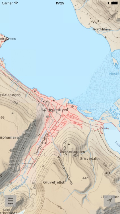 Here and there+ Svalbard (with offline maps)