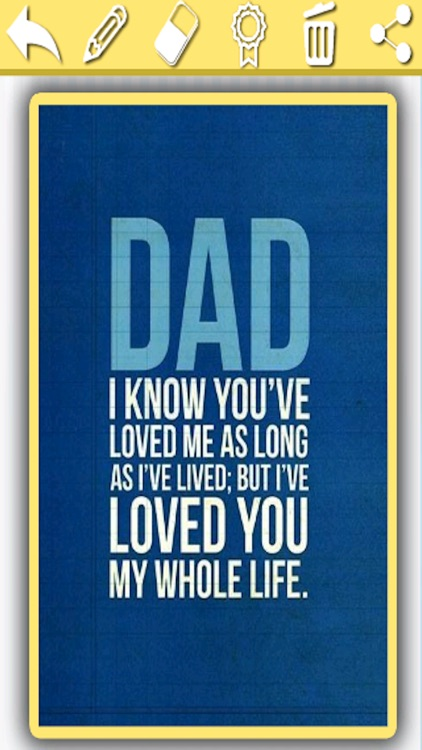 Father's Day Greetings & Card Maker For #1 DAD screenshot-4
