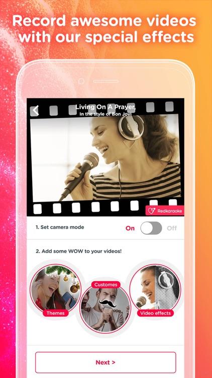 Red Karaoke Sing & Record - We Love Singing