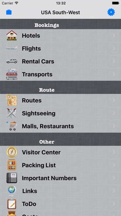 aTravel Manager screenshot-0