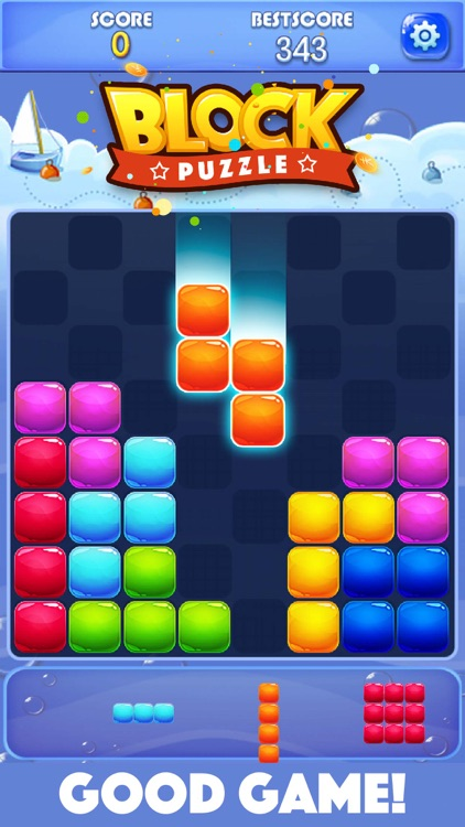 Candy Block Puzzle Blitz screenshot-1