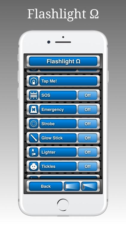 Flashlight Ω screenshot-3