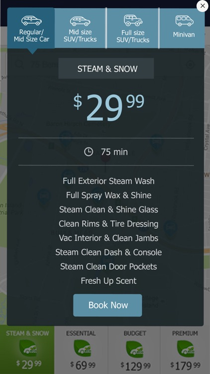 Mr. Steam Mobile Car Wash screenshot-0
