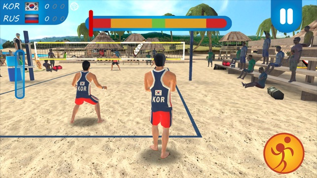 VTree Beach Volleyball Game