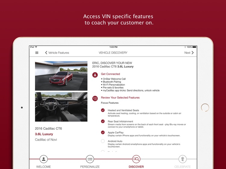 Cadillac Dealer SalesAssistant screenshot-4
