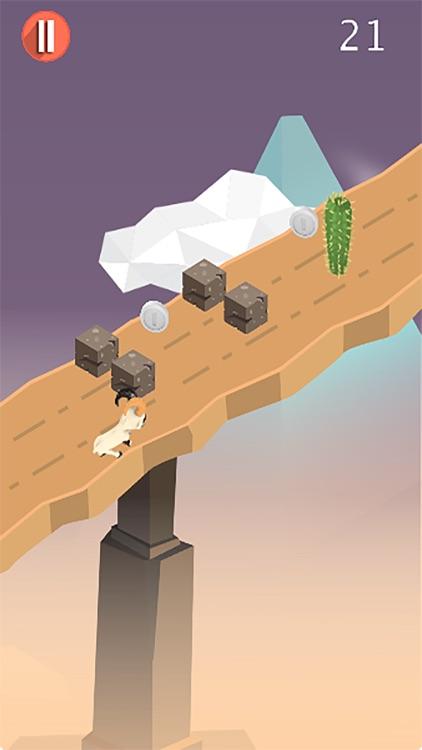 3D Goat Dash