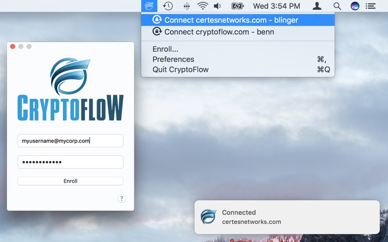 CryptoFlow for Mac