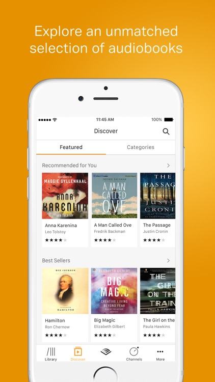 Audible – audio books, original series & podcasts screenshot-0
