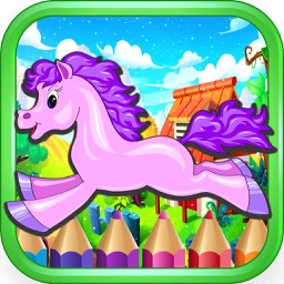 Pony Princess game for girls