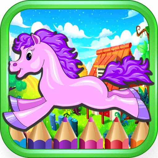 Pony Princess game for girls