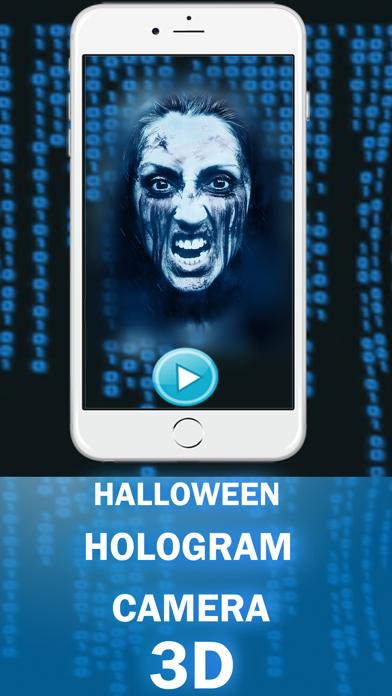 Halloween Hologram Ghost 3D Camera Fake screenshot two