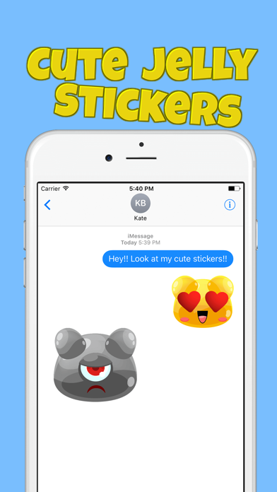 Cute Jelly Stickers