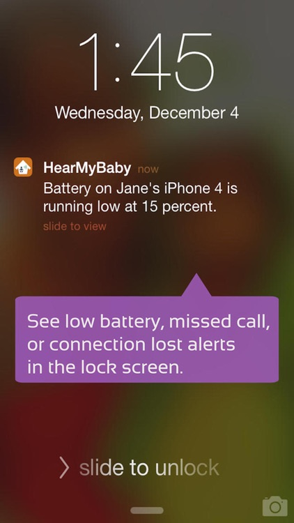 Baby Monitor App ~ Cloud Audio for iPhone screenshot-4